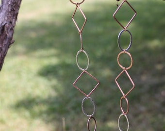 Metal Linked Necklace