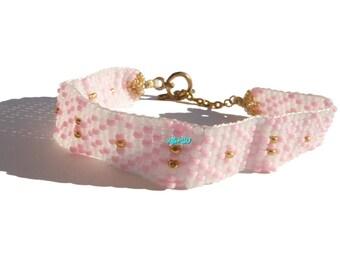Native American seed beads bracelet