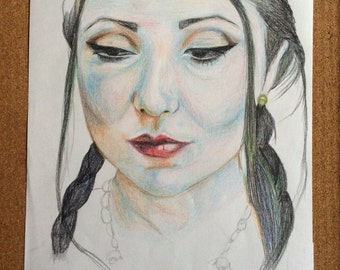 Original drawing one off by Sophie Ashton