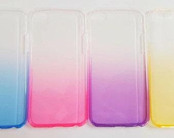 iPhone 6 Case - Ombre Case -Thin Flexible Phone Case
