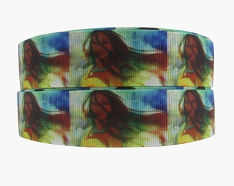 Pocahontas 1 inch Ribbon by the yard