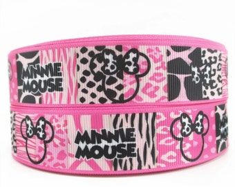 Disney Minnie Mouse 1 inch Ribbon by the yard
