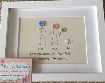 Personalised wedding gift