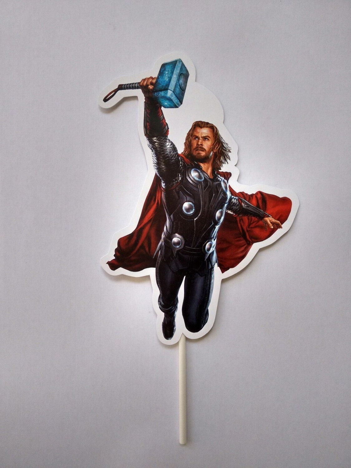 Thor Toppers Thor Party Decor Super Heroes Toppers Thor