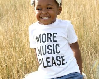 More Music Please Tee/Onesie