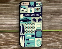 Supernatural Collage Art case iPhone 6s 5s 5c 4s 6 Plus case, iPod 4 5 6 case, Samsung Case, HTC Xperia Nexus LG G3 G4 iPad case