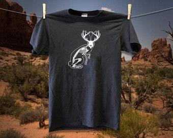 Jackalope Skeleton T-Shirt