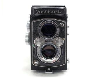 Yashica - mat D  TLR 6x6 - Yashicamat - Medium Format Camera - Yashicamat - Twin Lens Reflex