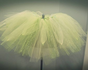 Tinkerbell Tutu, costume tutu, toddler tutu, infant tutu, green tutu