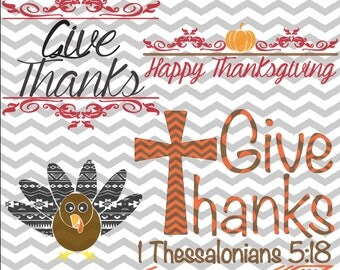 Aztec Turkey, Give Thanks, Happy Thanksgiving, Bible Verse, Thanksgiving Turkey .SVG/.EPS/.PNG Files for all Vinyl Cutting Machines