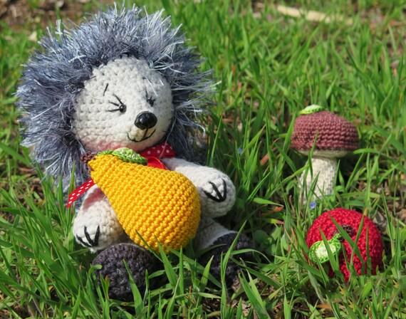 Hedgehog Toy Knitting Pattern : Hedgehog toy Crochet toy Knitted toys Hedgehog crochet Crochet