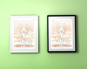 Venus JPL Poster
