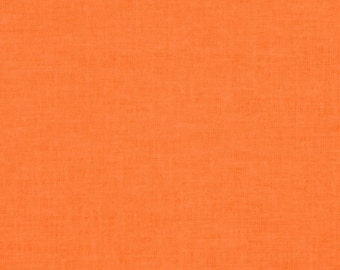 SALE 6.50Yard  - Riley Blake Neon Solid - Neon Orange 100% Cotton fabric