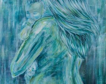 Charlotte | Motherhood artwork print