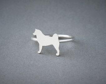 AKITA Ring • Akita Inu • Name Ring • Ring • Custom Ring • Dog Gift • Dog Ring • Dog Breed • Akita Gift