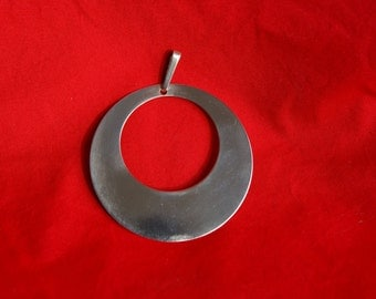Silver pendant from the 70s