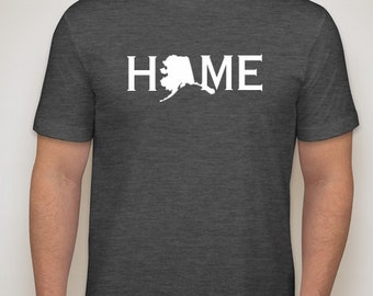 Alaska Home Shirt, Alaska Native, Alaska t shirt, Alaska pride