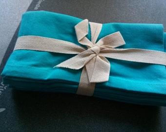 Turquoise cotton napkins-# 4