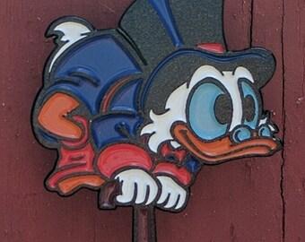 Ducktales Scrooge McDuck Enamel Lapel Pin