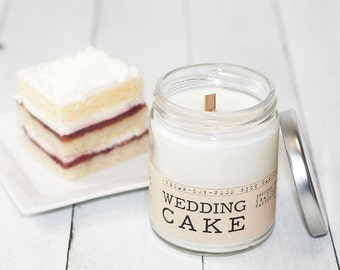 wedding cake scented candles wedding favor candle etsy 24032