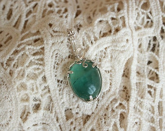 Fluorite pendant
