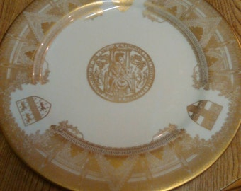 Spode Westminster Abbey Plate