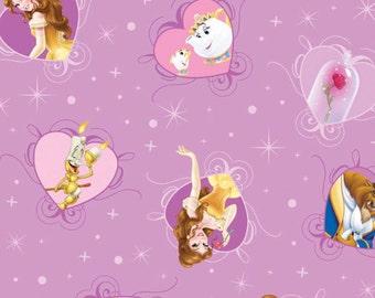 Per Yard, Disney Beauty and The Beast Princess Belle