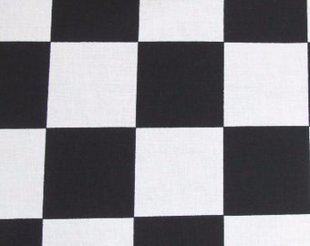 """29"""" Checker Fabric Remnant/End of Bolt 1166"""