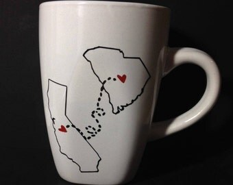 Love State Mugs