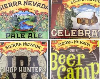 Custom Beer Coaster Sierra Nevada