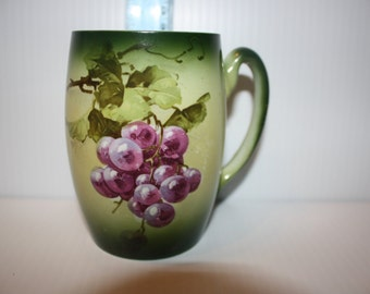 Avon Coffee Cup w/Grape Design