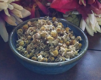 Chamomile Flowers, conjure, pagan ritual supply, hoodoo, new age