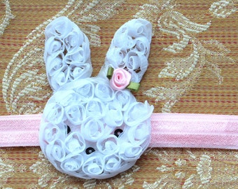 Infant Headband, Baby Headband, Easter Headband, Bunny Headband, Toddler Headband, Girls Headband, Spring Headband, Newborn Headband