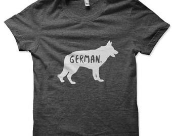German Shepherd T-Shirt for Men and Women / German Shepherd t-shirt / German Shepherd tee shirt