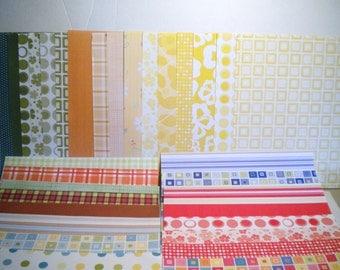 ScrapBooking Paper & Embellishment Lot 1