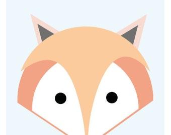 Fox Print A3