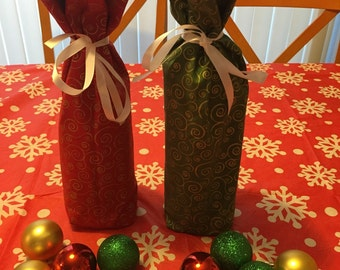 Christmas sale!!! wine bottle bag