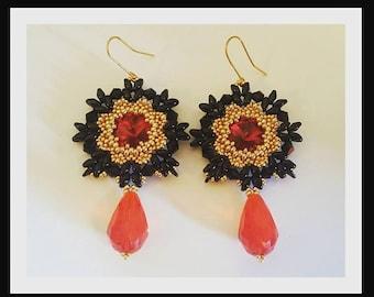 Earrings Flamenco (Flamenco Earrings)
