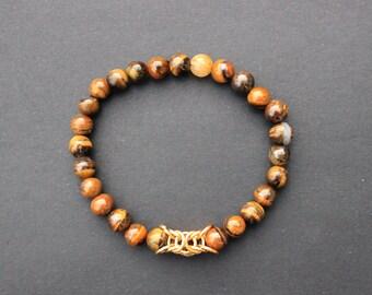 Thin Tiger Eye bracelet
