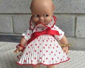 1985 JESCO Cameo's Kewpie Vinyl Doll, Vintage Kewpie Doll, Kewpie baby doll, Vintage Kewpie Doll
