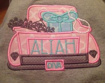 Diva truck Tshirt