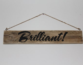 Personalised wooden sign/wedding sign
