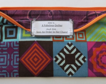 Persette #274 Personalized Zippered Organizing Pouch
