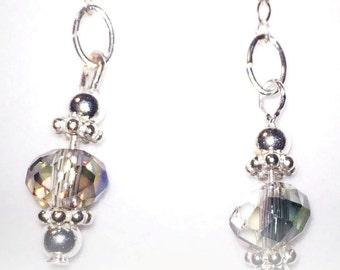 Sterling Silver Droplet Earrings
