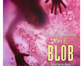 The Blob Movie POSTER (1988) Teen/Horror