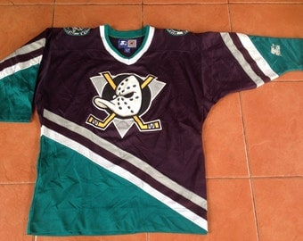 MIGHTY DUCKS jersey vtg anaheim NHL hockey