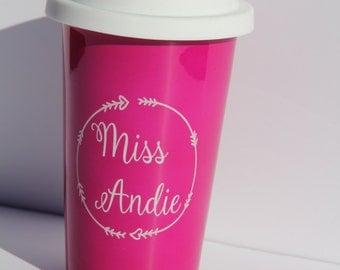 Personalized  Latte Mug