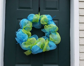 Spring wreath , summer wreath , bright and cheery