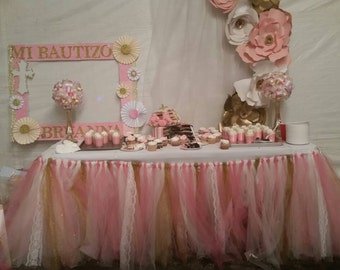 Tutu Table skirt, candy buffet skirt