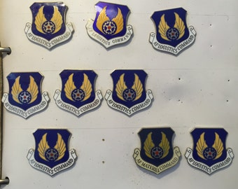 9 Air Force Command Military Pins